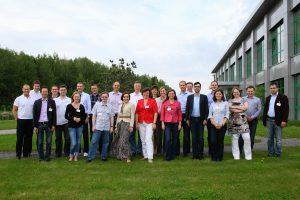 Am Alumni-Treffen vom 17. bis 19. Mai 2012 in Moskau