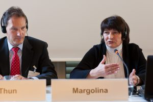 2011 Gespräche - Rechtsstaatlichkeit und Compliance