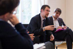 2013 Gespräche - Soziale und ökologische Verantwortung von Unternehmen